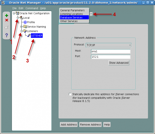 """oracle configuration manager Enterprise manager  grid control 11g  start the oracle net configuration assistant  2 thoughts on """" creating an oracle listener using netca ."""