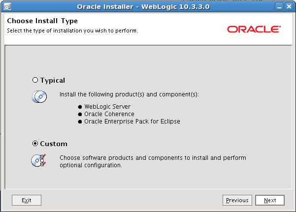 Installing Oracle Weblogic Server 11g Release 1 (10 3 3 0